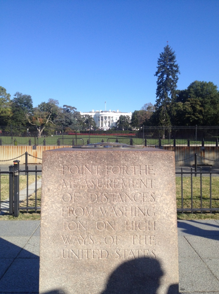 The White House and the Zero Milestone