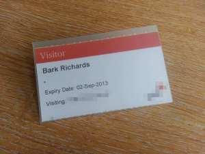 Bark Richards pass
