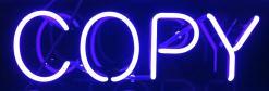 neon sign copy MGD©